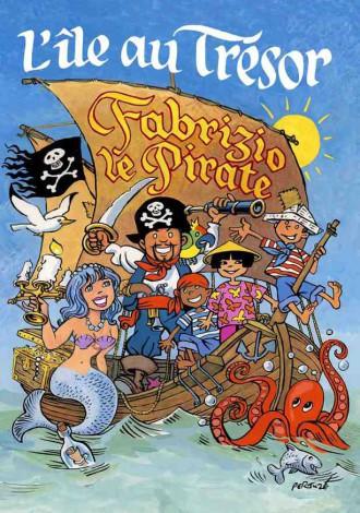 Magicien pirate à la Réunion avec Fabrizio Bolzoni le pirate de la Réunion spectacles enfants à la Réunion