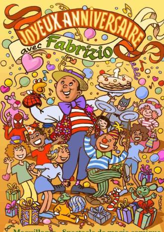 Anniversaires pour enfants à la Réunion avec Fabrizio l'animateur des marmailles 974