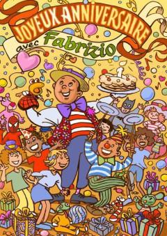anniversaire magique à la Réunion avec Fabrizio le sculpteur de ballons 974 Réunion
