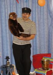 spectacles pour enfants avec Fabrizio le magicien fantaisiste des enfants à Marseille et sa région