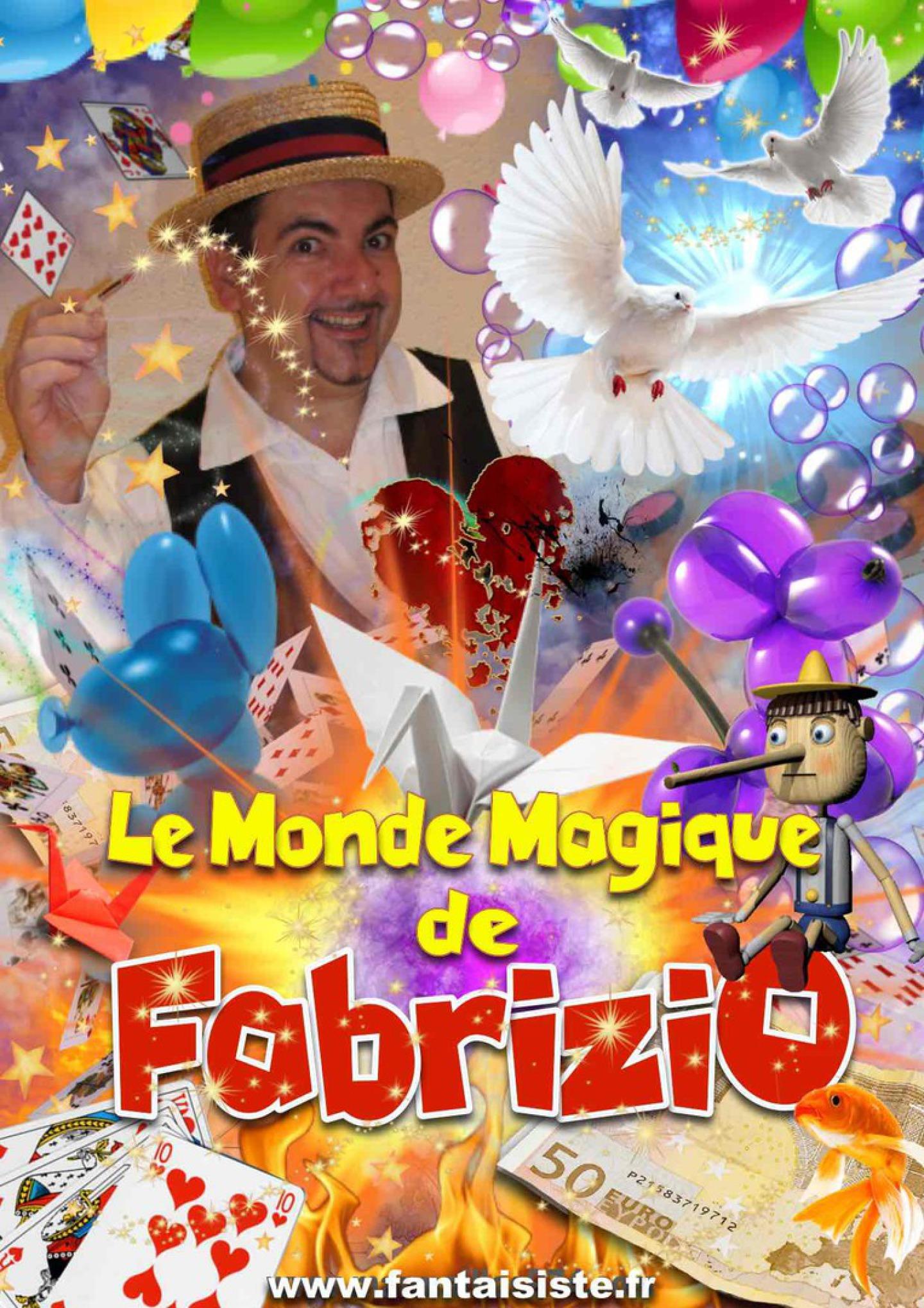 le monde magique de fabrizio le magicien à marseille provence, artiste à marseille
