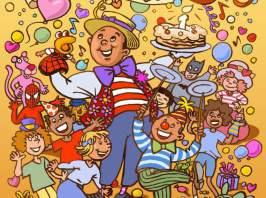 anniversaires à domiciles pour enfants à Marseille avec fabrizio le magicien