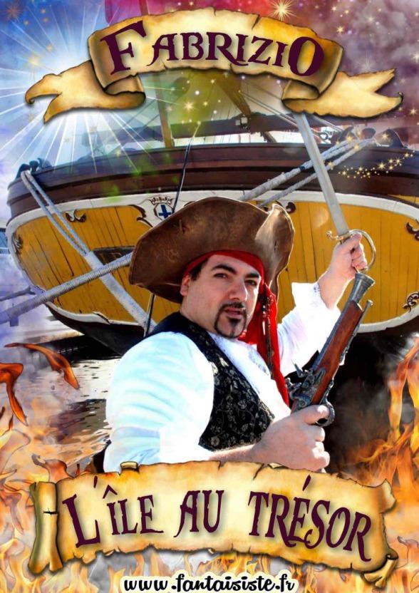 spectacle de magie pour enfants avec Fabrizio le pirate magicien sculpteur de ballons et ventriloque à Marseille et région Provence Alpes Côte d'Azur, pirate magicien dans les bouches du rhône France