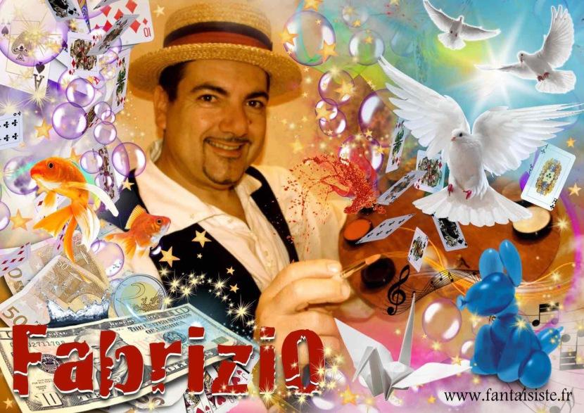 Fabrizio le magicien fantaisiste à Marseille, magicien comique et sculpteur de ballons à Marseille et en France