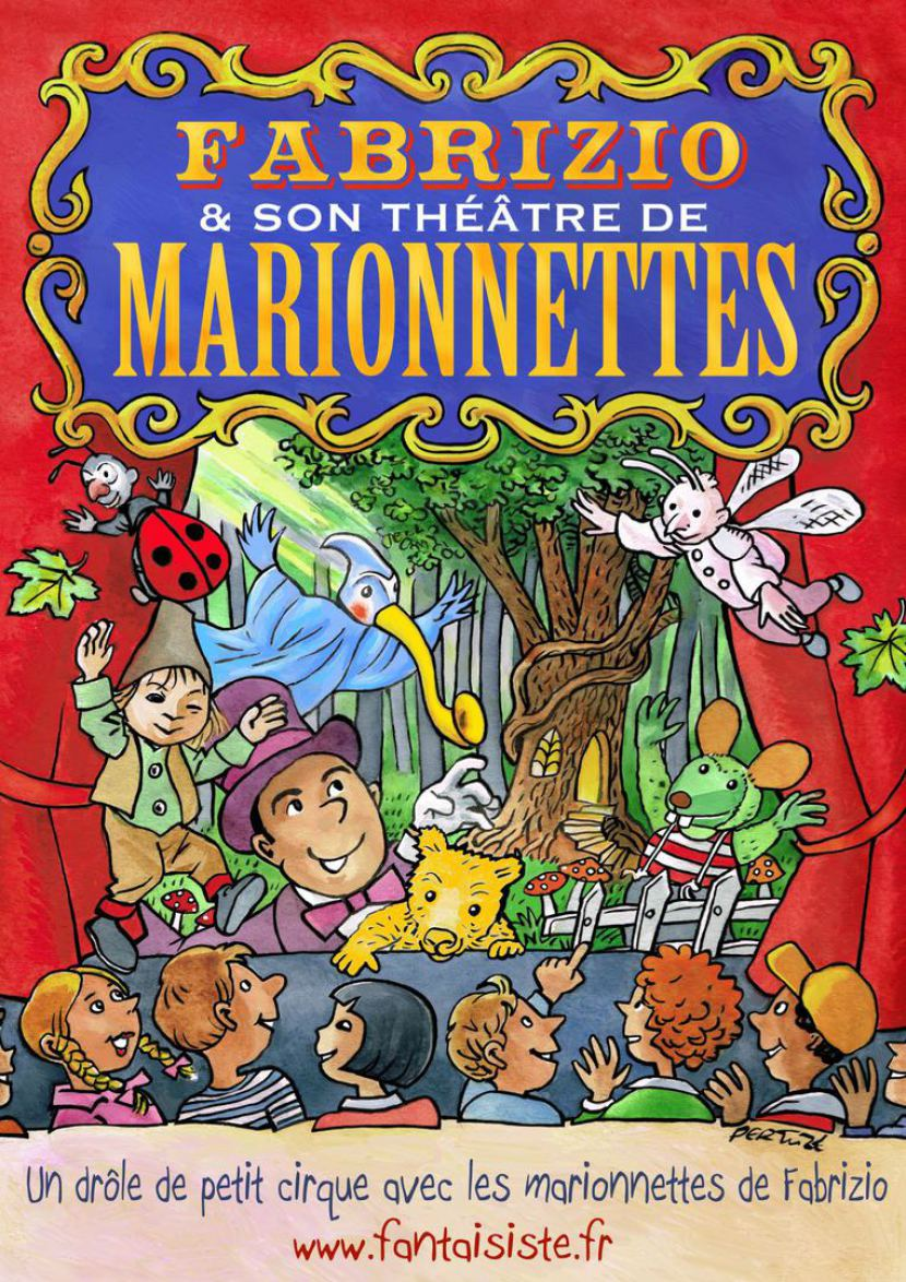 les marionnettes de Fabrizio le magicien fantaisiste des enfants en France, spectacle de marionnettes à fils à Marseille, artiste marionnettiste à Marseille, les marionnettes de Fabrizio le magicien fantaisiste à Marseille France, fabrice bolzoni magicien