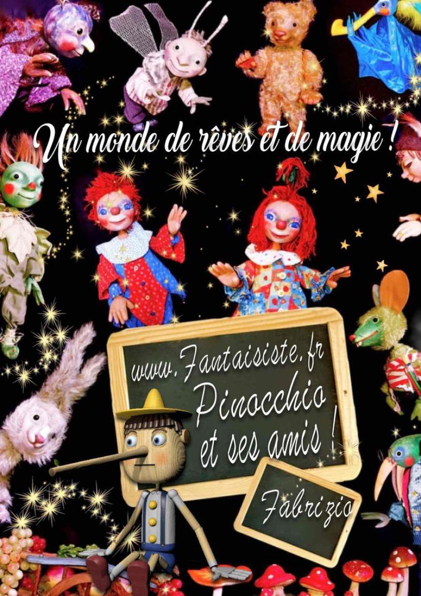 marionnettes magiques de Fabrizio en France, marionnettes pour enfants à Marseille, spectacle de marionnettes à Marseille avec Fabrizio, spectacle de marionnette à Marseille France