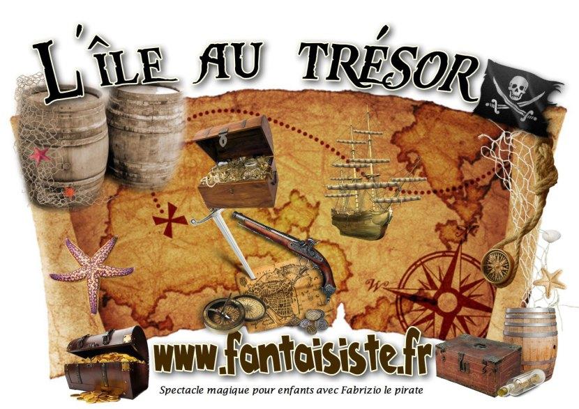 l'île au trésor avec Fabrizio le pirate magicien fantaisiste des enfants à Marseille en France