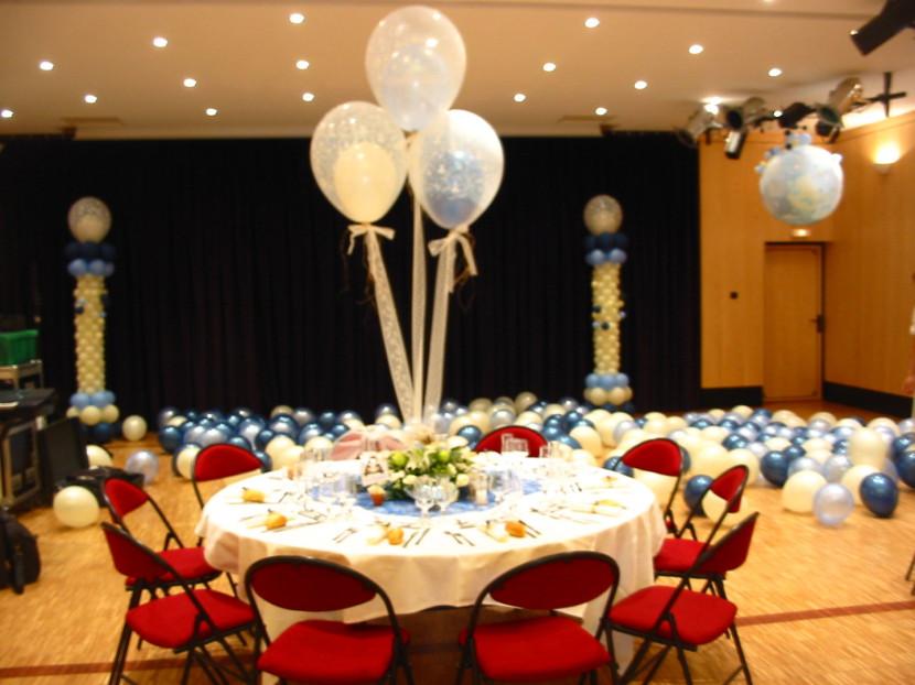 décoration ballons par Fabrizio le magicien des ballons à Marseille Provence France
