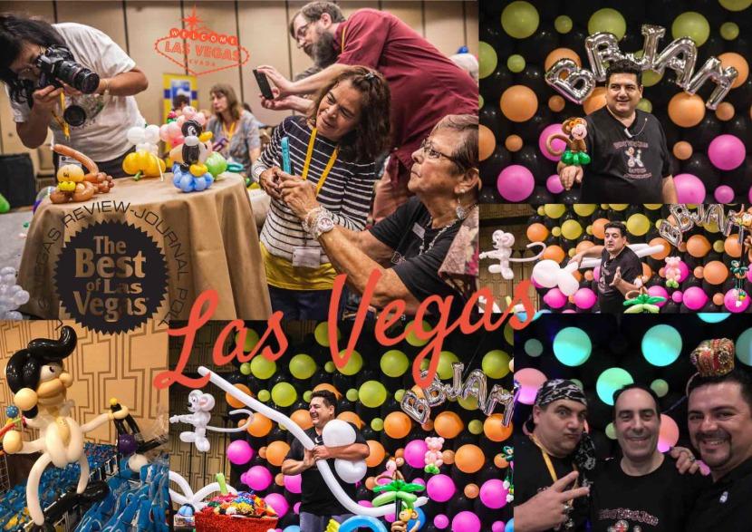 Les ballons de Fabrizio à Las Vegas Nevada USA pour le Bling Bling Jam 2017