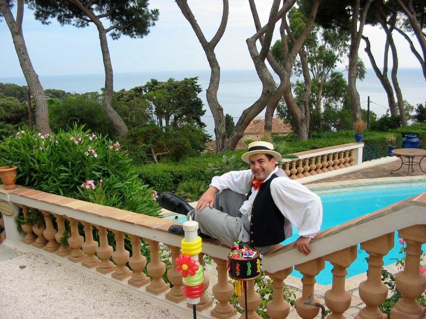 sculpteur de ballons en Provence et dans le Var,Fabrizio le sculpteur de ballons international