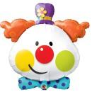 tête de clown de Fabrizio le magicien fantaisiste des enfants en France