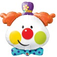 ballon tête de clown de Fabrizio le magicien sculpteur de ballons en France