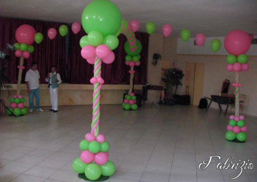 décoration ballons à marseille, décoration ballons de fabrizio artiste Français à Marseille