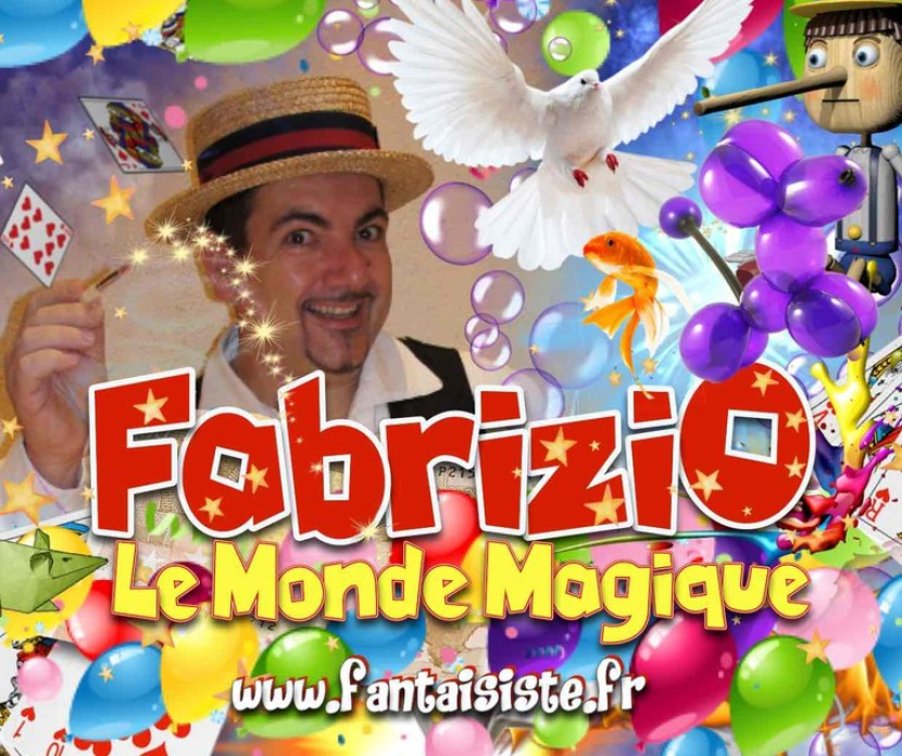 le monde magique de Fabrizio le magicien des enfants à Marseille