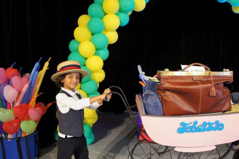 le cirque des ballons de Fabrizio le magicien, spectacle de clown à Marseille