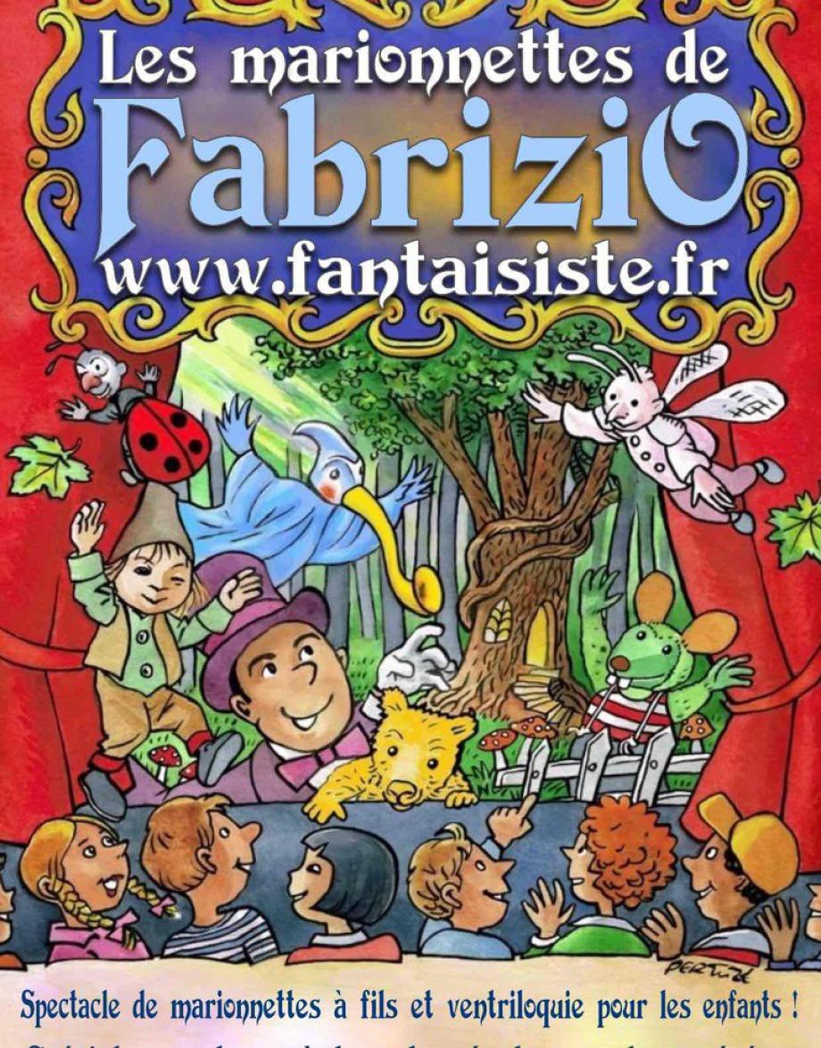 spectacle de marionnettes avec Fabrizio le magicien des enfants à Marseille Bouches du Rhône, région PACA, France, marionnettes à fil et ventriloquie avec FABRIZIO BOLZONI magicien à Marseille, spectacle à Marseille pour les petits enfants