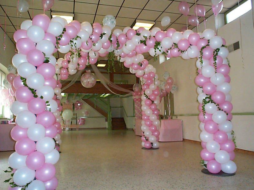 décoration en ballons mariage Marseille, fabrizio le magicien fantaisiste à Marseille, décoration ballons pour mariages en Provence