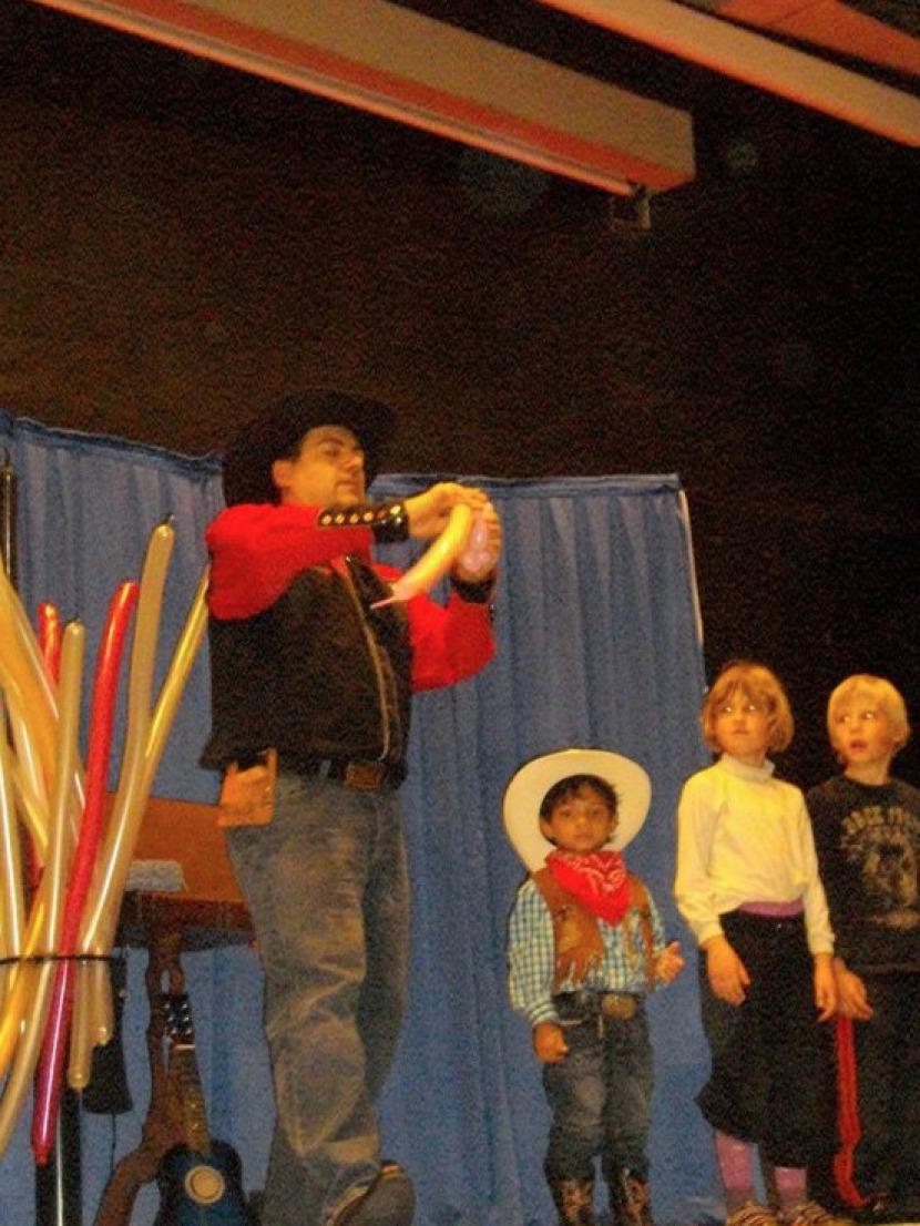spectacle de cowboy à Marseille