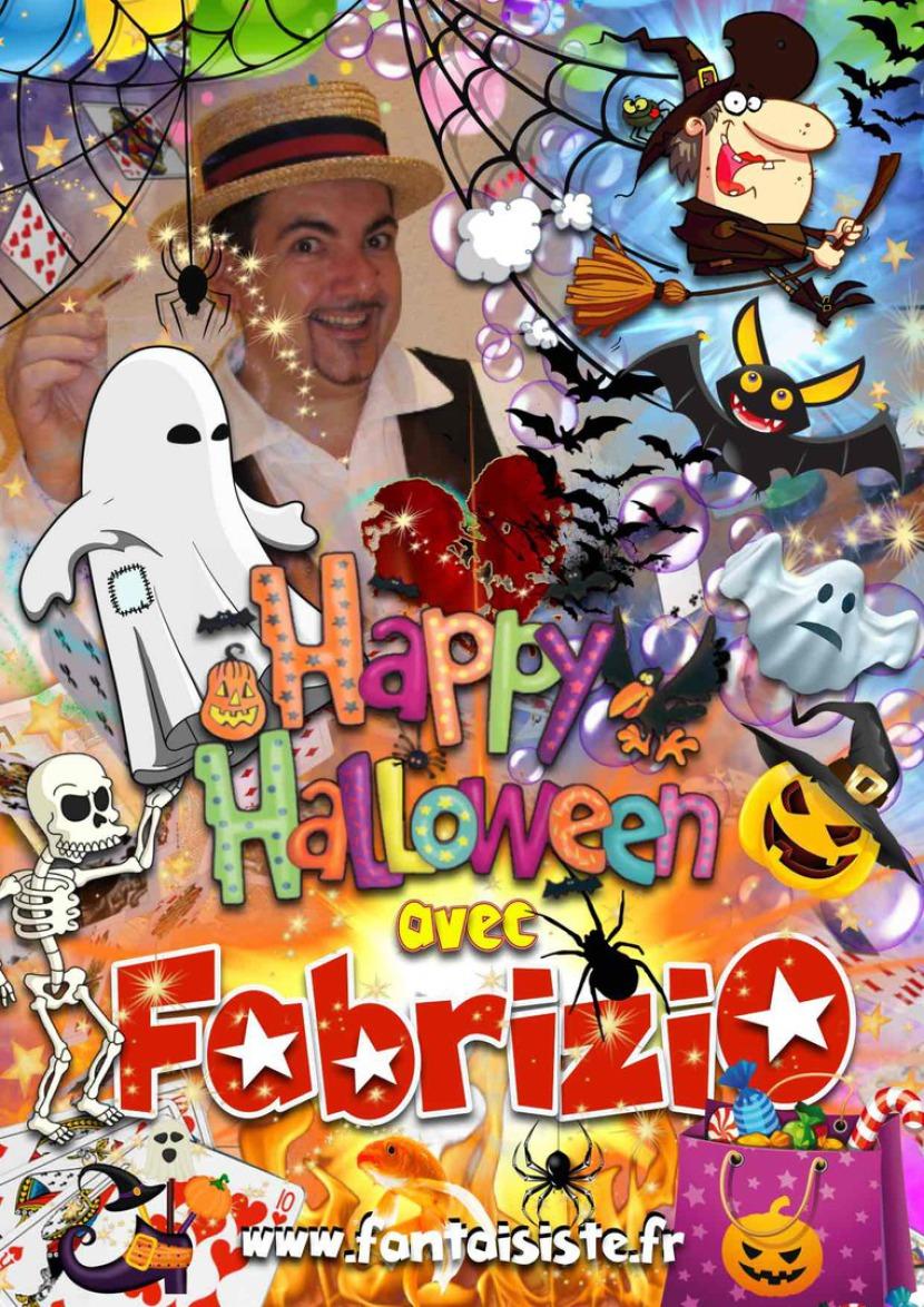 Fêter Halloween à Marseille avec Fabrizio le magicien fantaisiste en France, spectacle et animation pour Halloween à Marseille et Provence