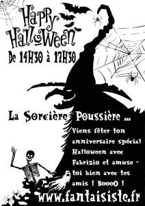 sorcière Halloween à Marseille avec Fabrizio le magicien en Provence, spectacle pour Halloween à Marseille