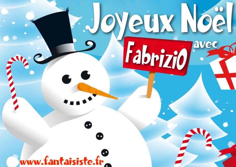 Joyeux Noël avec Fabrizio et ses spectacles magiques à Marseille et région PACA, le magicien des enfants en Provence et Marseille 13