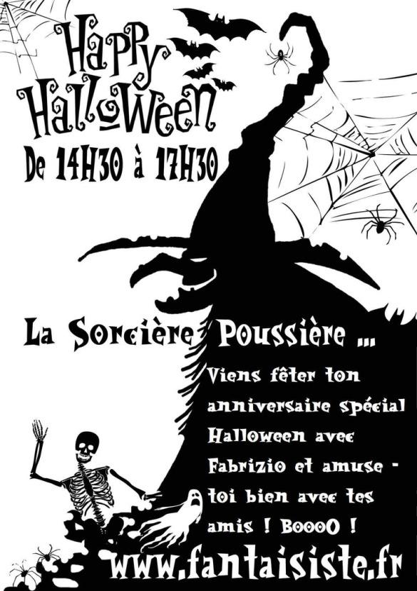 Halloween spécial anniversaire avec Fabrizio le magicien des enfants à Marseille