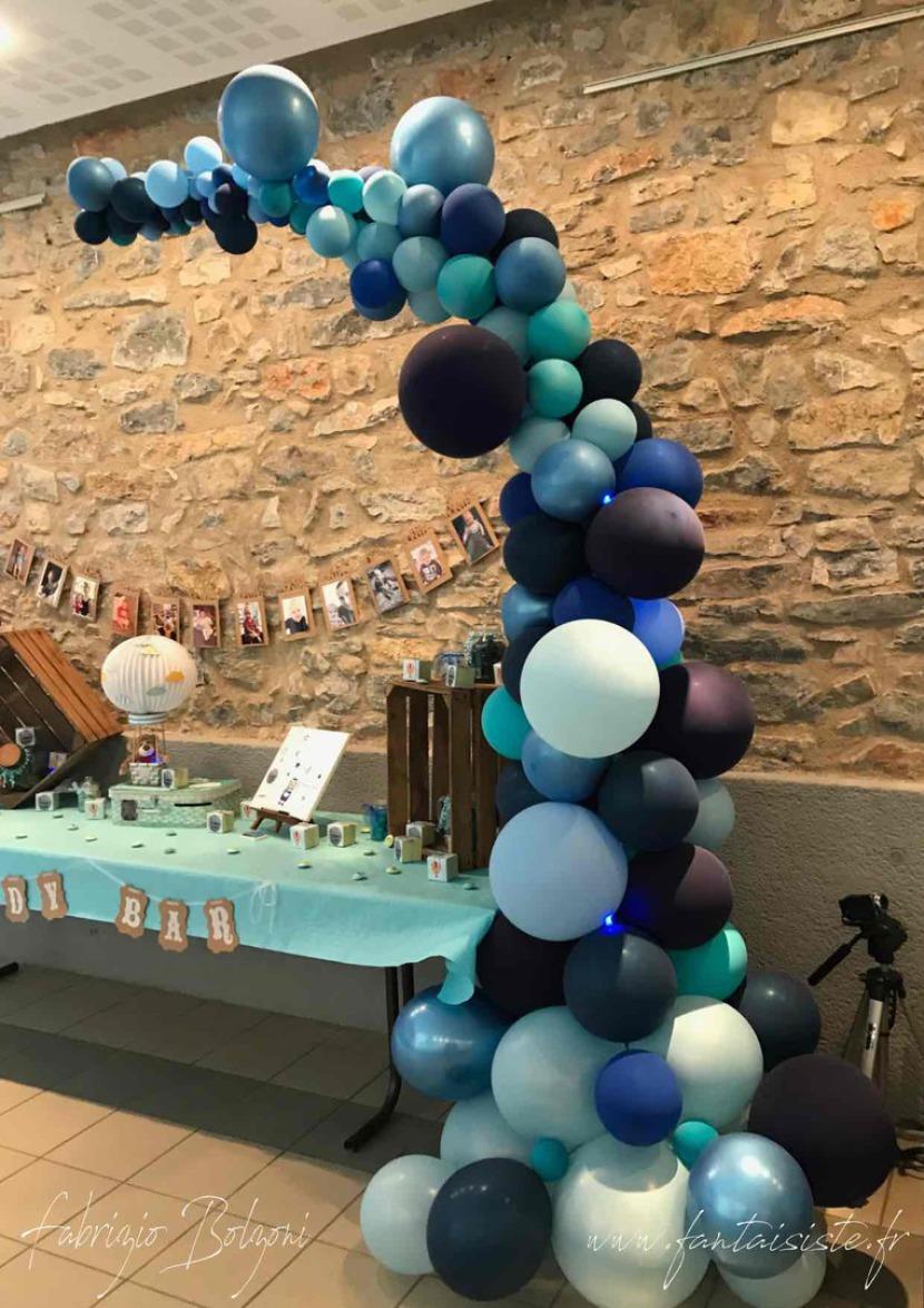 decoration ballons Marseille Fabrizio le magicien des ballons