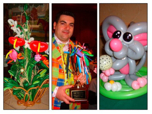 Top Twister trophee in USA, Fabrizio the balloon artist