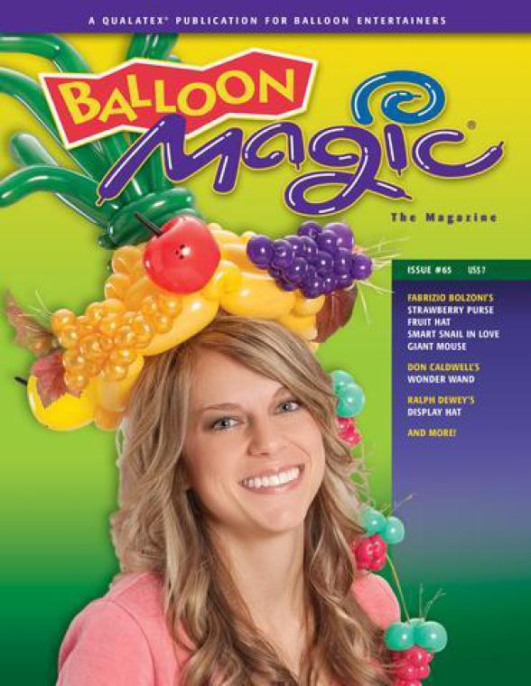 Balloon Magic Magazine Fabrizio Bolzoni French Balloon Artist
