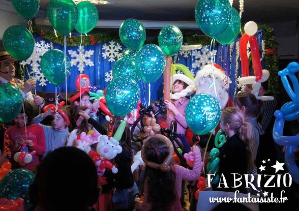 les ballons de Fabrizio artiste ballooneur à Marseille, French Balloon Artist in Marseille