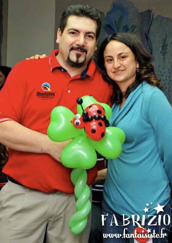 cocinelle ballon de fabrizio le sculpteur de ballons en provence marseille