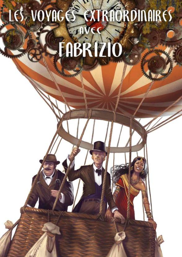 spectacle de Fabrizio le magicien les voyages extraordinaires