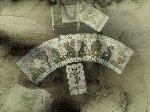 Oracle mustyque, mentalisme Marseille, magie13, les cartes monstrtes du désordre et de l'ordre magique, divinations Marseille