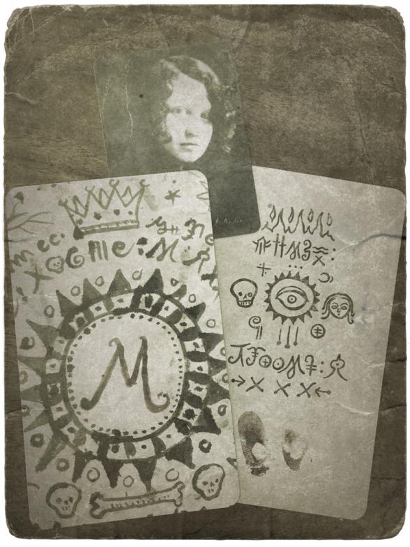 les cartes secrtes de magie, asile étrange, magie bizarre