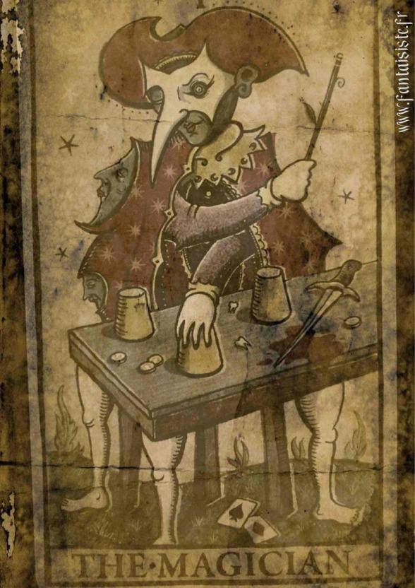 Tarot de Marseille, Magician Tarot, Magicien Marseille, Fabrizio le magicien
