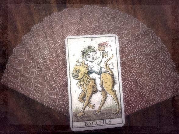 carte Bacchus, Bacchus tarot card,