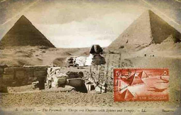 les pyramides d'Egypte et le mystère du sphynx, pyramide de Khéops