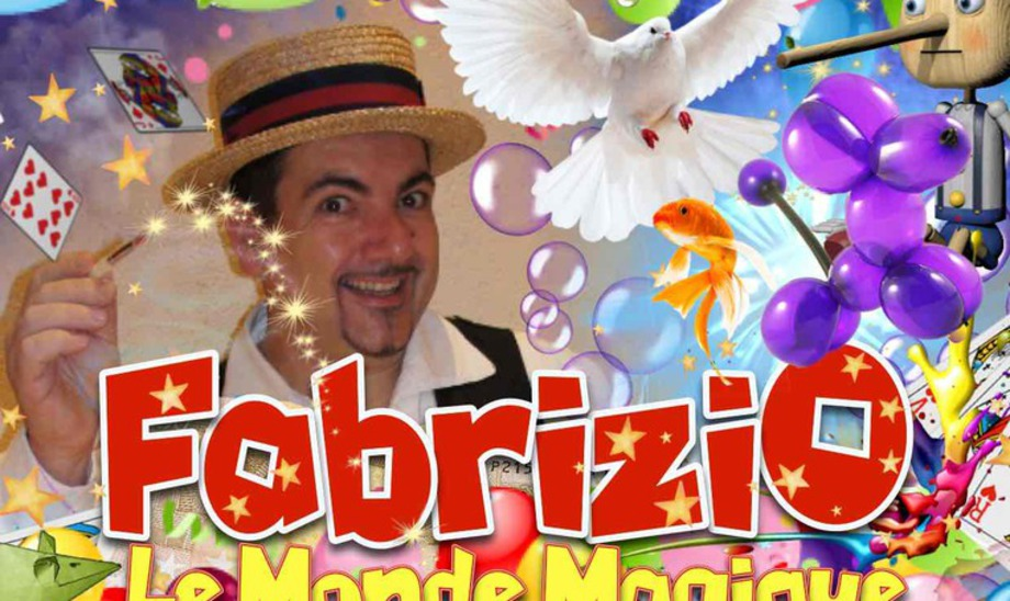 Fabrizio le magicien fantaisiste Balloon artist French entertainer for kids in Marseille France