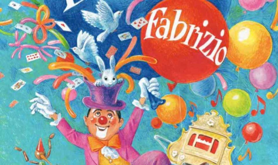 Clown Fabrizio magicien ventriloque pour tous les enfants à Marseille France, spectacle de clown à Marseille, spectacle de clown en Provence